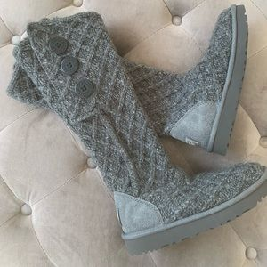 UGG Lattice Cardy UGGpure(TM) Knit Boot new size 5